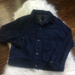 AG Adriano Goldshcmied Womens Denim Jacket Size Sm